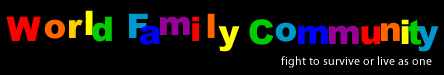 world family community logo