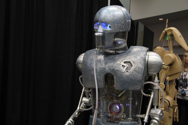 robot talk world peace
